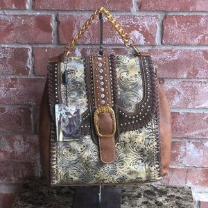 Montana West Buckle Collection Backpack